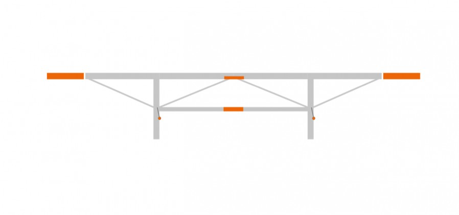 Extension package 2 x 0.5 m, F2