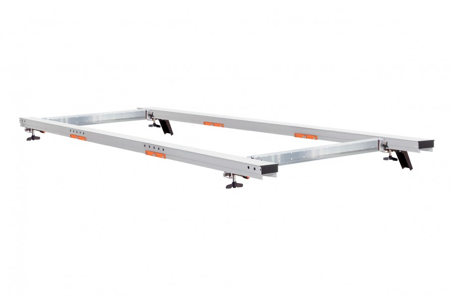 """Guide rail package for the Big Mill, 56"""" (142 cm)"""