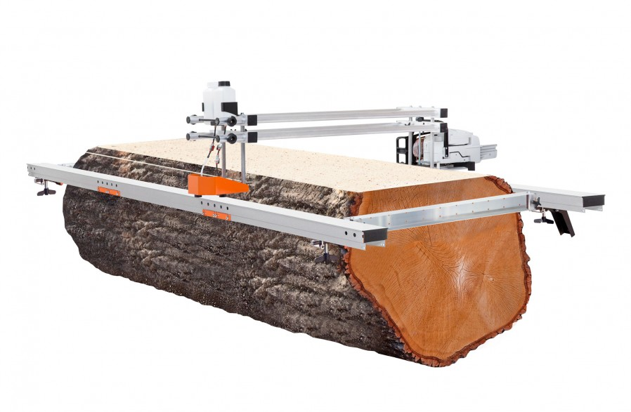 """Big Mill with guide rail package, for 66"""" (167 cm) guide bars (chain & guide bar included)"""
