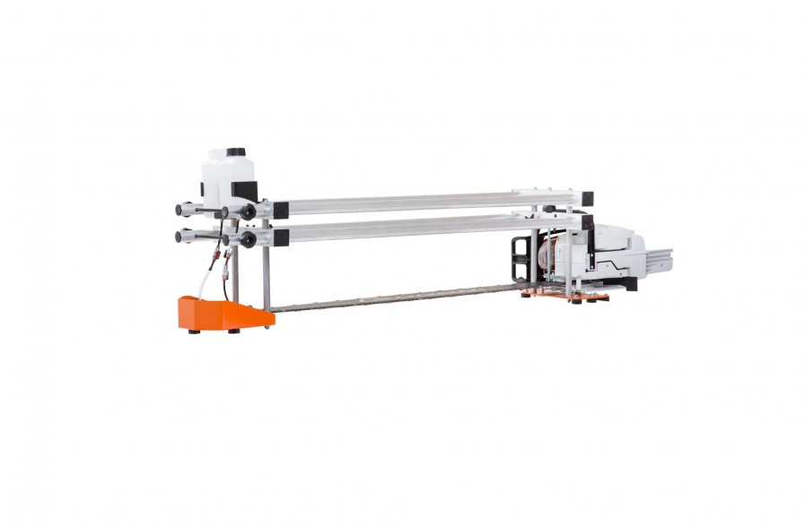 "Big Mill saw frame, for 84"" (214 cm) guide bars"