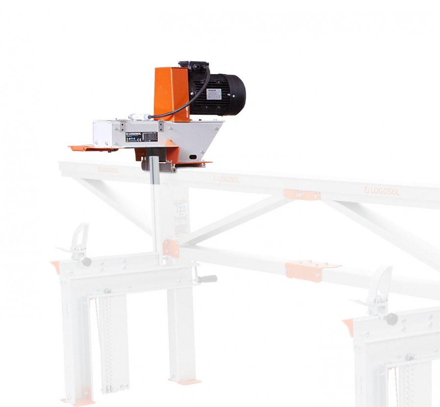 Log House Moulder 4 kW, without knives, for E37 Friction Feeder