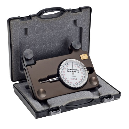 Blade tension gauge