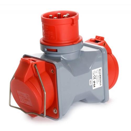 Plug, 400V/16A, 3-Phase