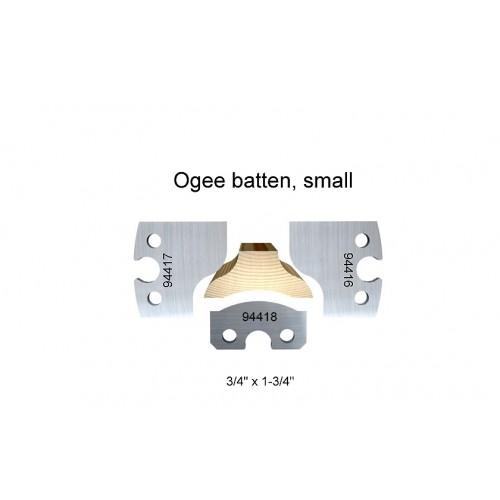 Ogee batten, small
