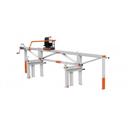 F2 Chain Sawmill (4 m) with ES8, manual remote feeding