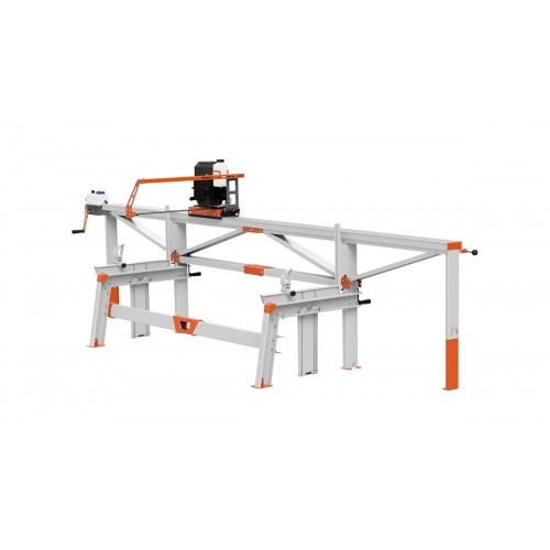 F2+ Chain Sawmill (4 m) with ES5, manual remote feeding
