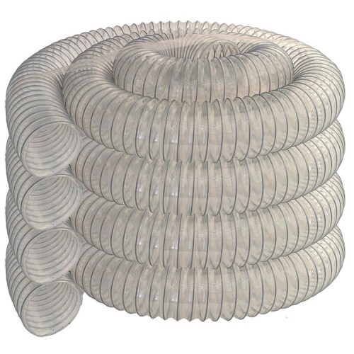Chip Hose, Ø 4'' (Ø 100 mm), 39 ft (12 m)