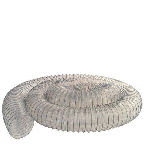 Chip Hose, Ø 4'' (Ø 100 mm), 10 ft (3 m)