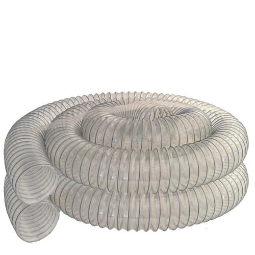 Chip Hose, Ø 4'' (Ø 100 mm), 19 ft (6 m)