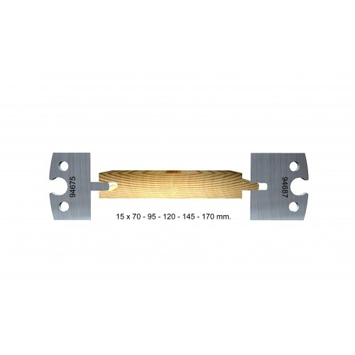 Tongue and groove 15 mm